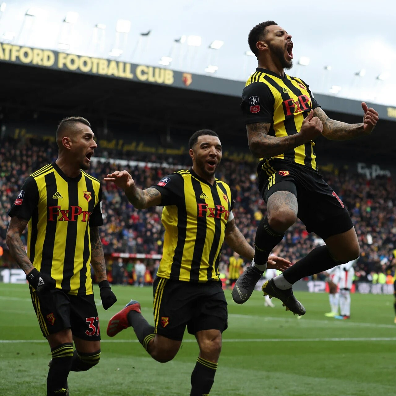 Ighalo Wishes Watford Good Luck In FA Cup Final Vs Manchester City