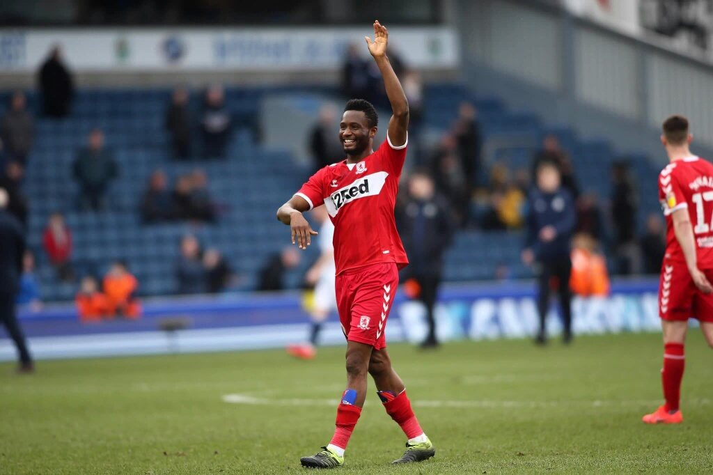 Middlesbrough Confirm Mikel's Departure After Expiration Of Short-Term Deal