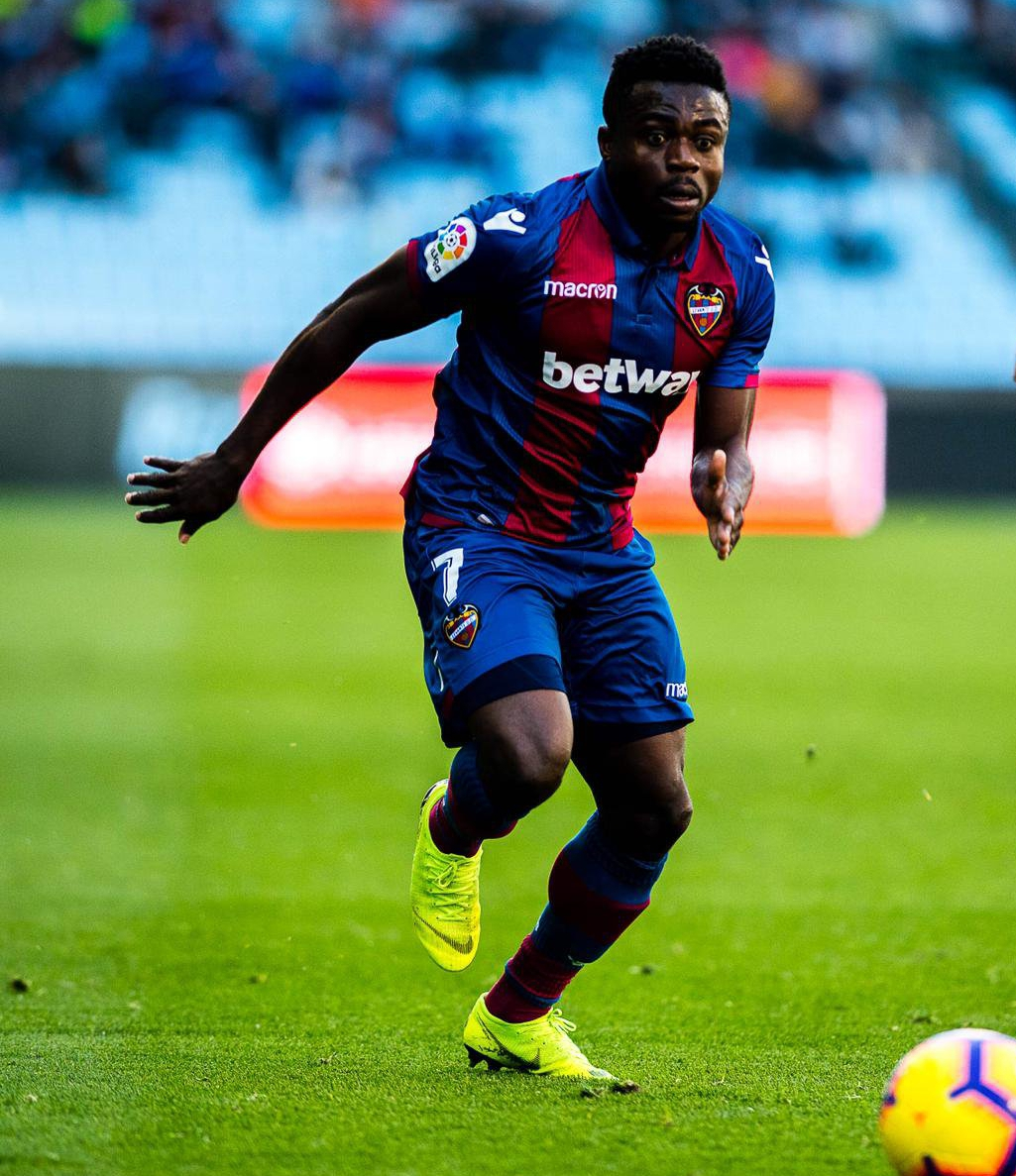 LaLiga: Simon Grabs Assist As Levante Bag Home Win Vs Agbo's Rayo Vallecano