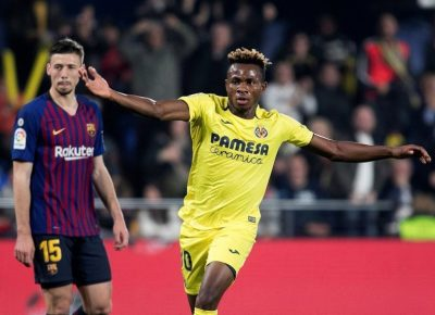 samuel-chukwueze-villarreal-laliga-arsenal-premier-league-epl-super-eagles