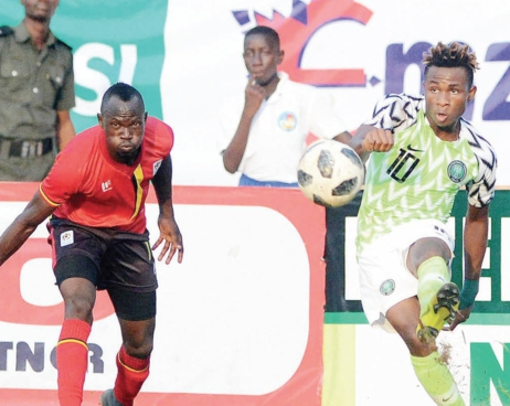 Chukwueze Finally Dumps Flying Eagles' W/Cup For Super Eagles' AFCON
