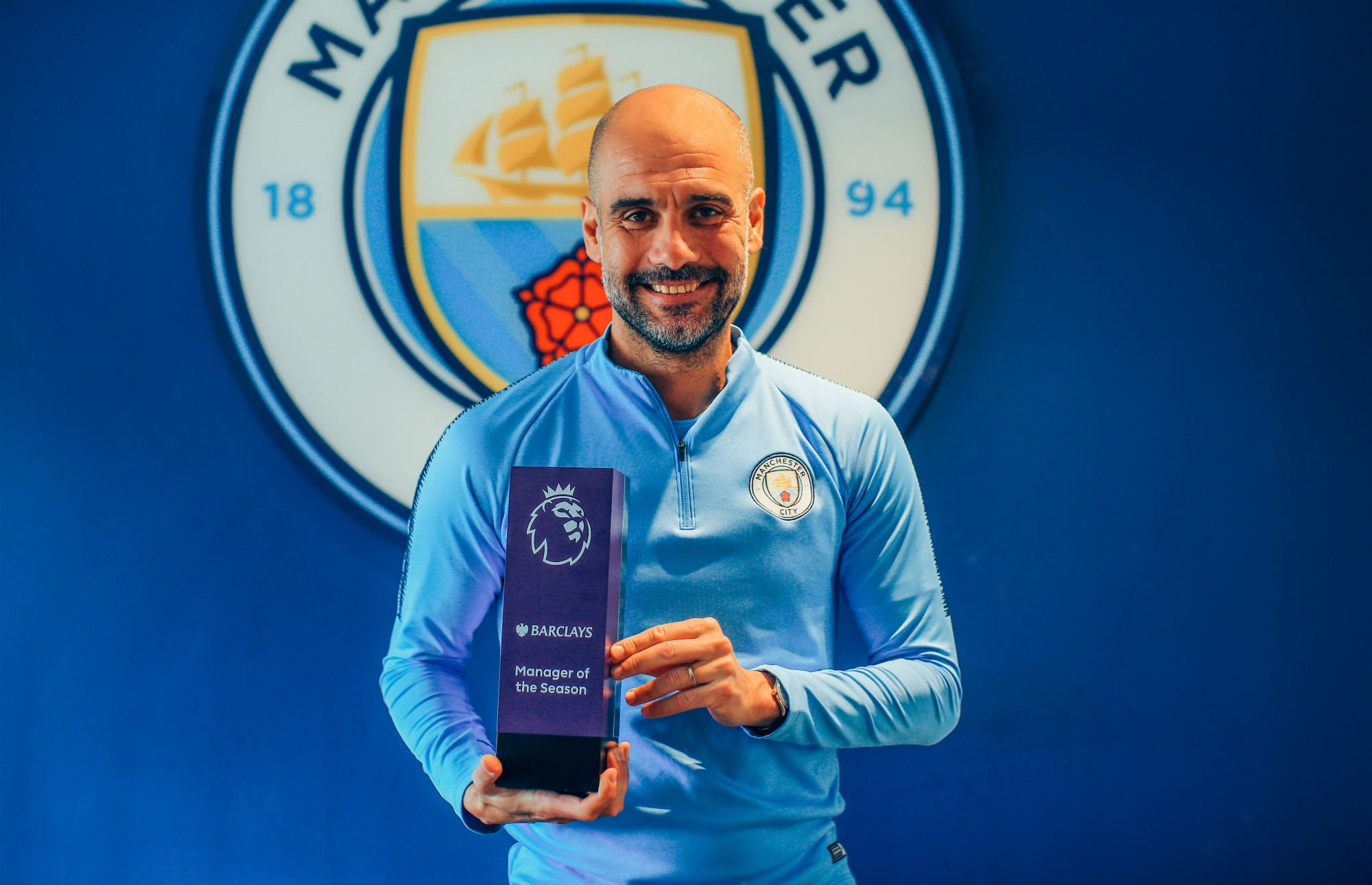 Guardiola Wins EPL Manager of the Season Award