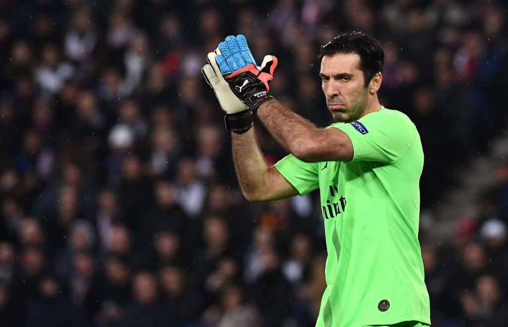 Ageless Buffon Happy To Extend PSG Stay At 41