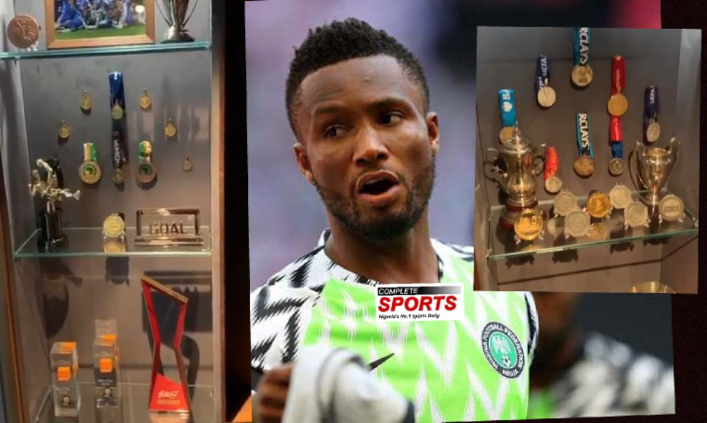 Mikel Declares Ahead AFCON 2019: 'I Want More Trophies'