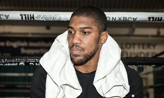Joshua Wants Boxing Drug Cheats Banned For Life
