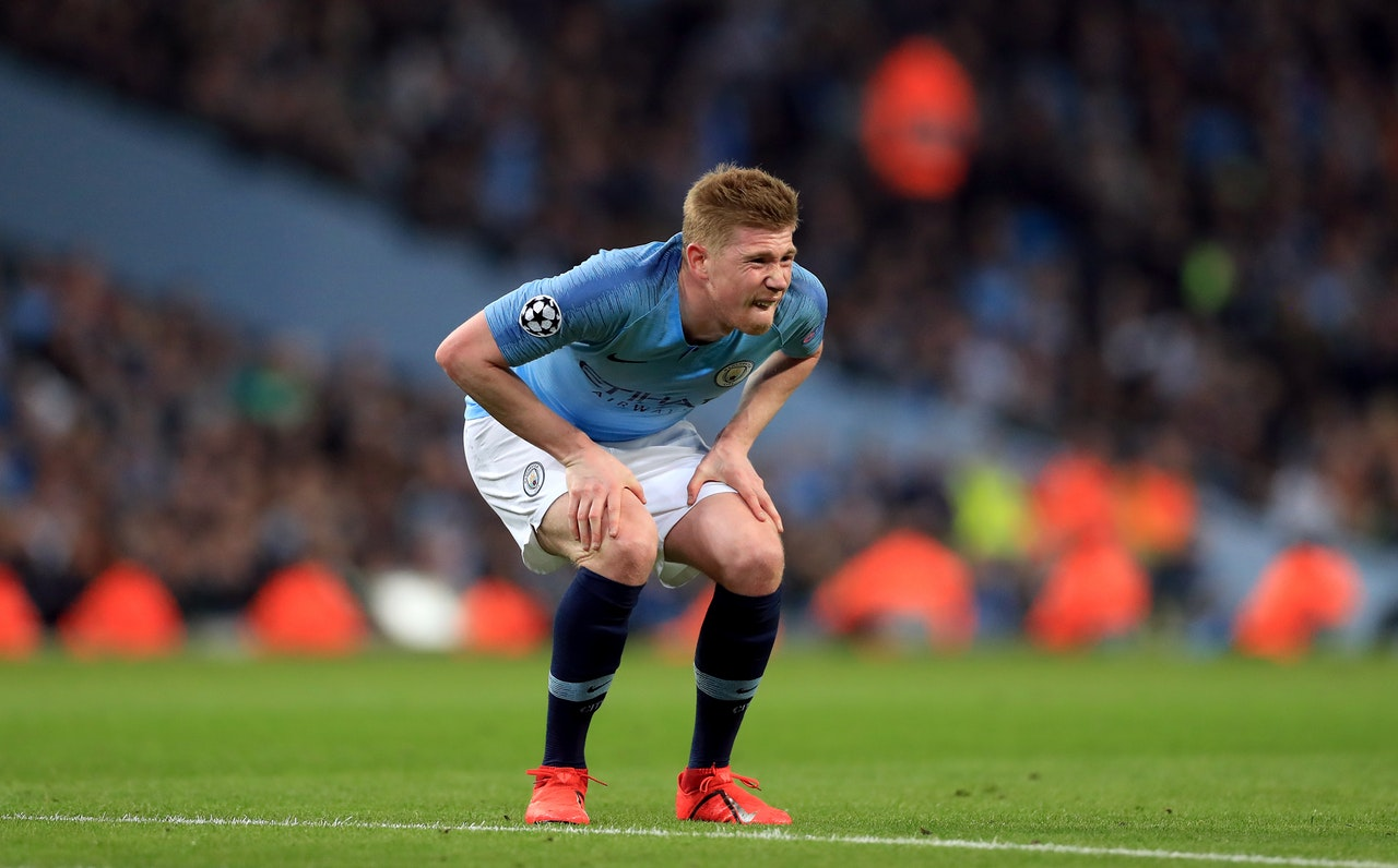 De Bruyne Out For City