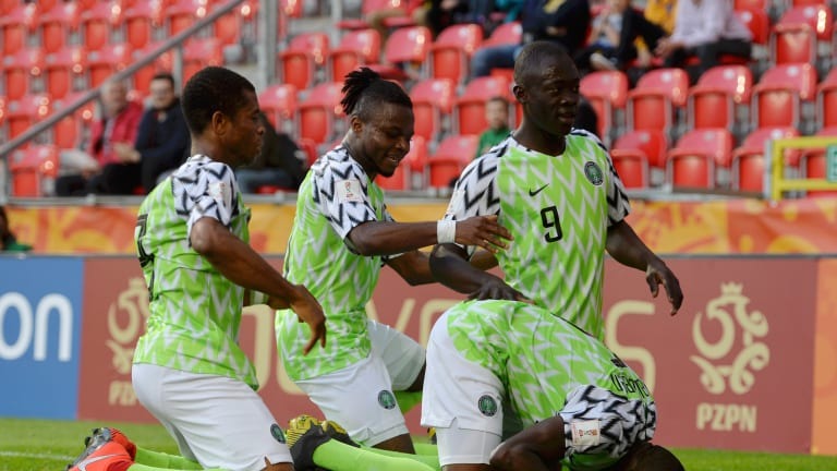 Flying Eagles Maul Qatar 4-0 In 2019 U-20 World Cup Group D Opener