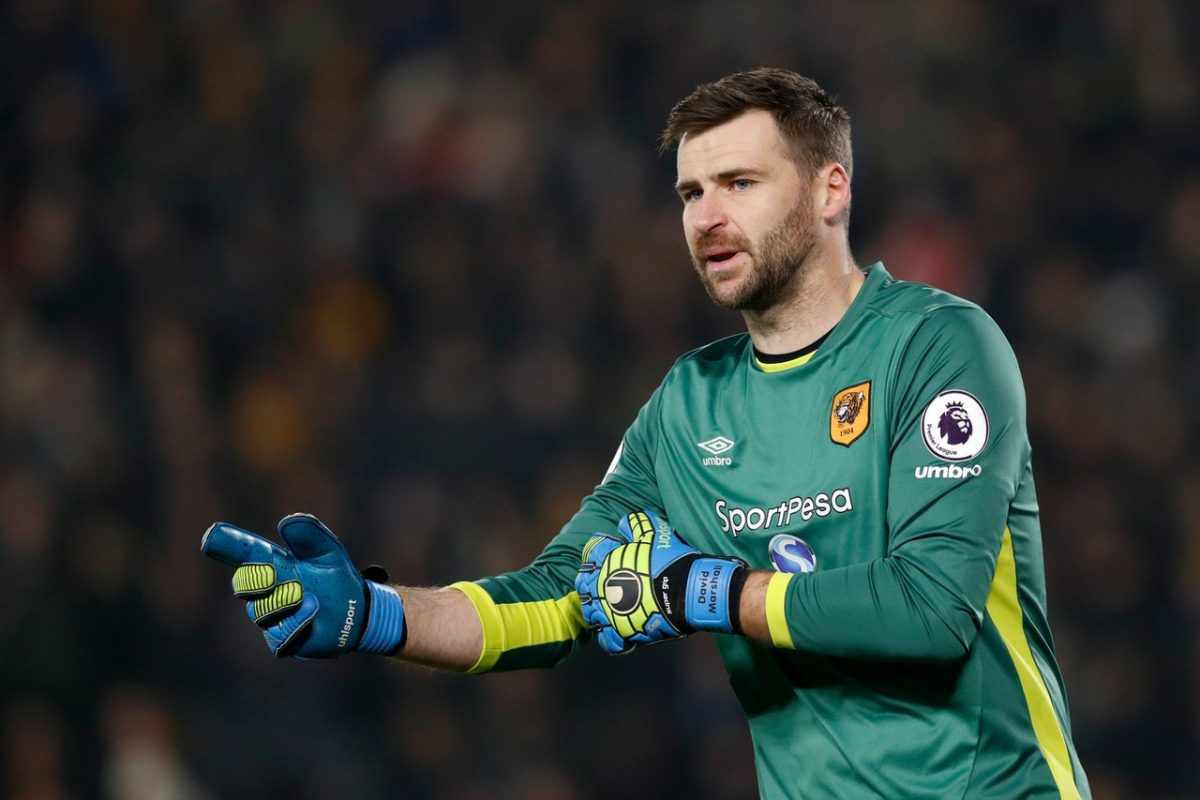 Liverpool Plot Shock Move For Hull Stopper