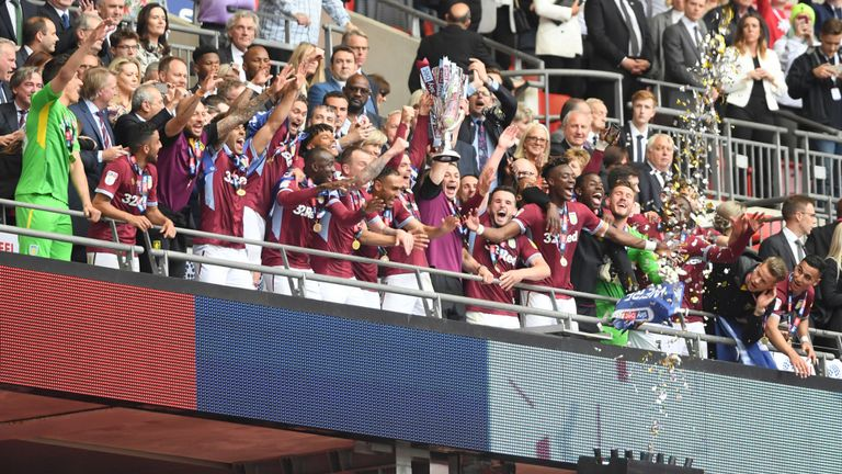 Aston Villa Promoted To Premier League After Play-off Final Win Vs Derby County