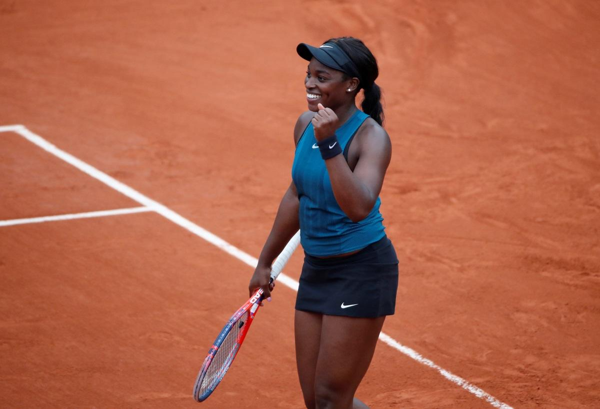 Stephens Too Hot For Azarenka