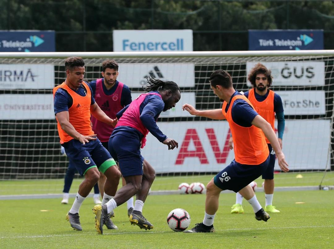 Moses Delighted To  Be Back In Training With Fenerbahce After Injury Induced Absence