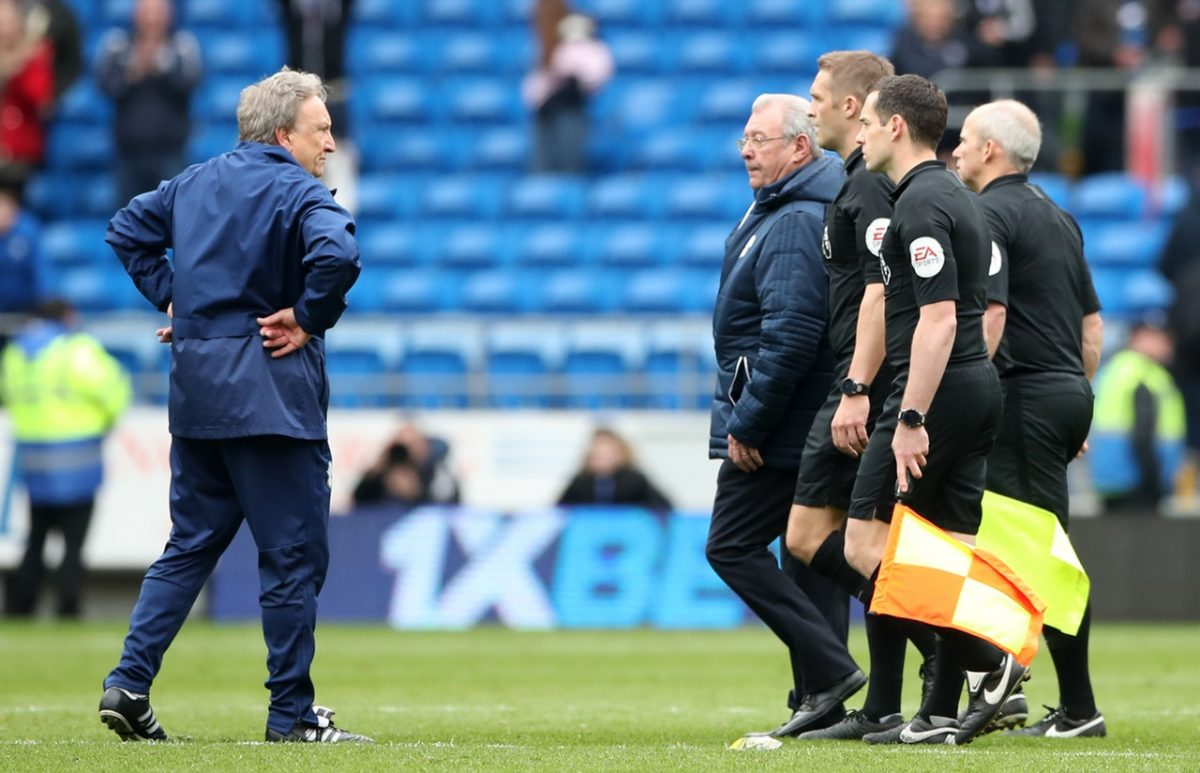 Warnock Hit With Fine