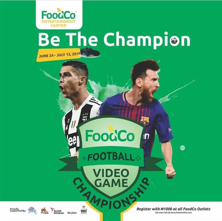 Foodco Excites Video Game Lovers With Football Game Championship