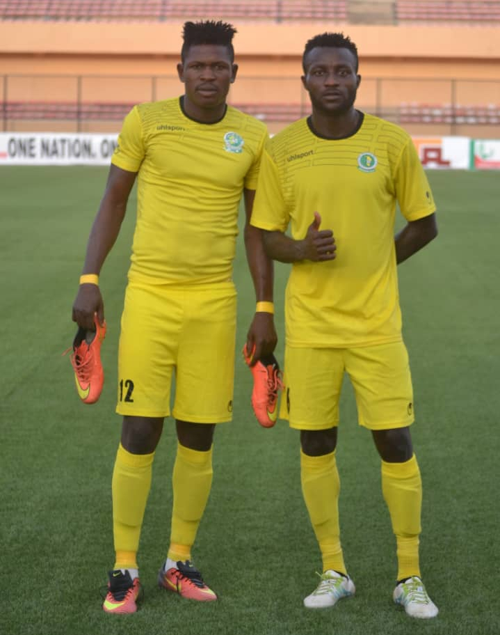 Beach Eagles Striker Dufegha, Dominic Celebrate Katsina United Relegation Escape