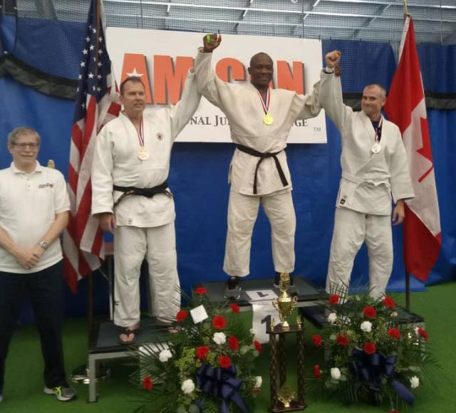 Ubah Shines For Nigeria Police, Wins Gold At AMCAN Int'l Judo Challenge New York