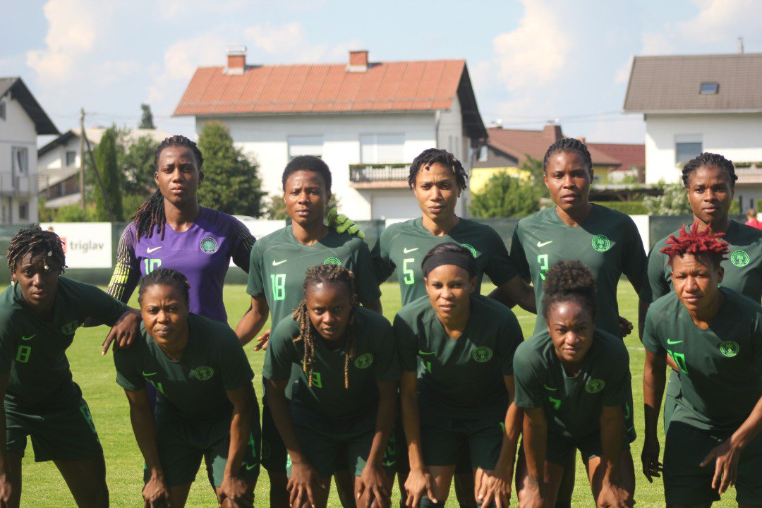 Super Falcons Thrash Slovenian Champions Pomurje 3-0 In Last Pre-Women's World Cup Friendly
