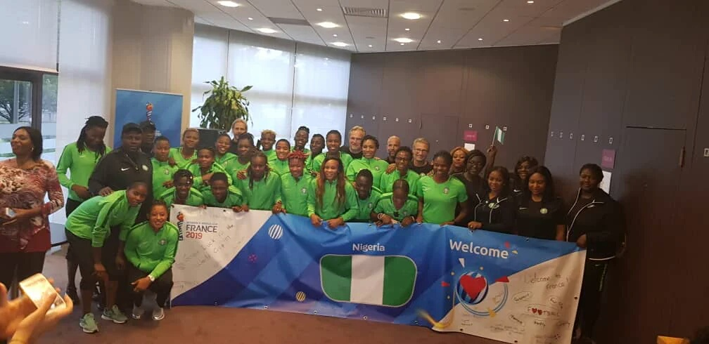 FIFA Women's World Cup: Super Falcons Land In France, Eager To Make Nigeria Proud