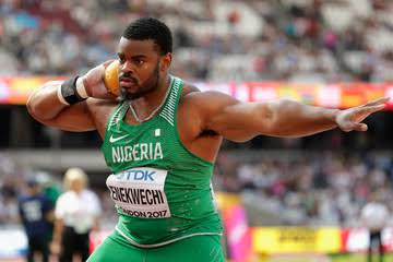 Enekwechi Disappoints On Diamond League Debut, Finishes 8th In Rome Shot Put