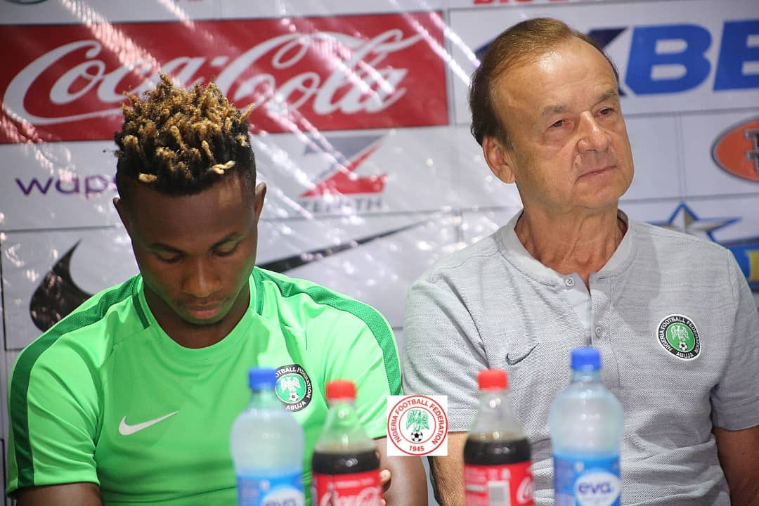 Rohr Guns For 22nd Win As Eagles Coach In AFCON 2019 Group B Opener Vs Burundi