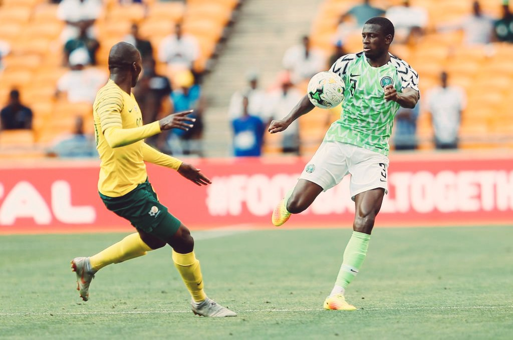 INTERVIEW – Collins: 'I want To Achieve Great Things With Super Eagles'