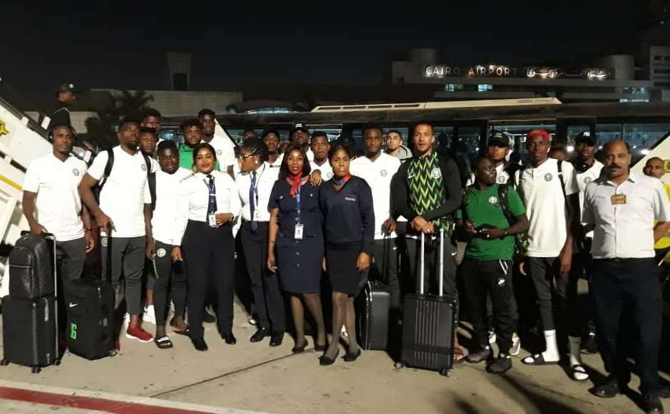 Super Eagles, Warriors Fly, Arrive Together In Ismailia; Rohr's Squad Begin Final AFCON Preparation