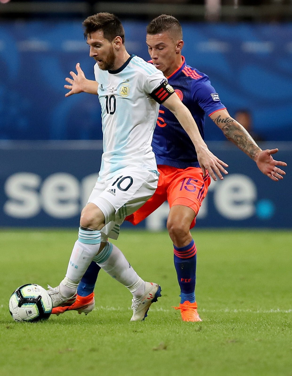 Messi: Argentina Must Bounce Back After Defeat To Colombia