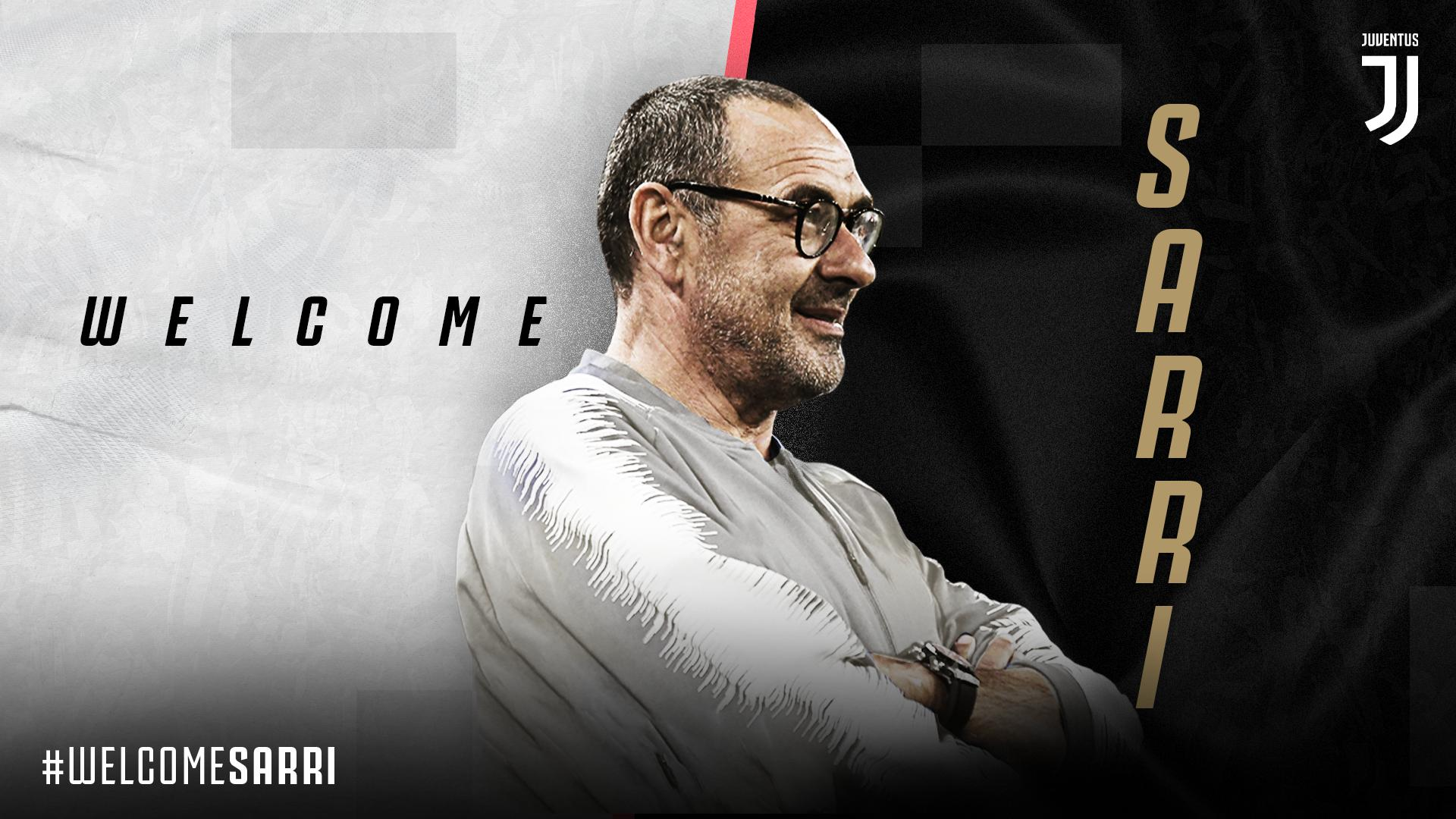 Sarri Leaves Chelsea, Joins  Juventus On Three-Year Contract