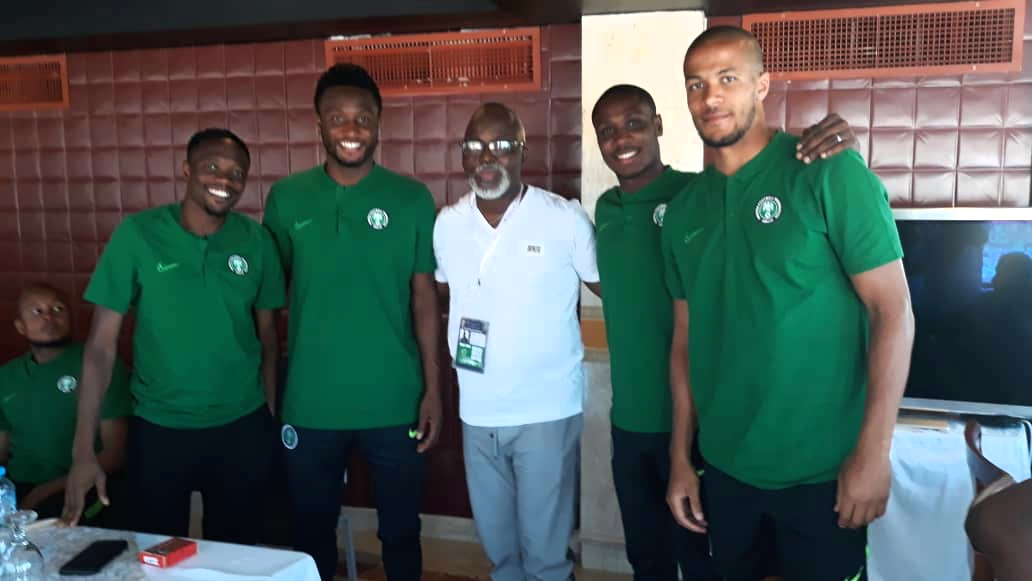 Pinnick Tasks Super Eagles To Win  AFCON 2019 Title