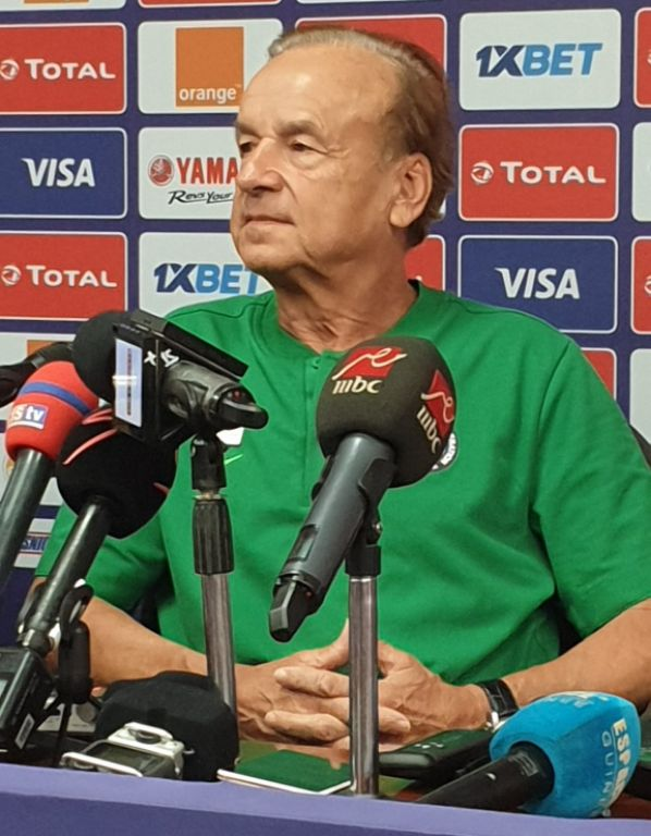 INTERVIEW – Rohr Speaks On Tactics, Injury Situation Ahead Nigeria Vs Guinea; On Goalie Selection Dilemma As Ezenwa Returns
