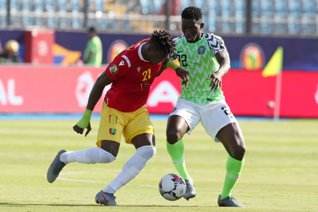 Omeruo's Sublime Header Against Guinea, Secures Round Of 16 Spot For Nigeria
