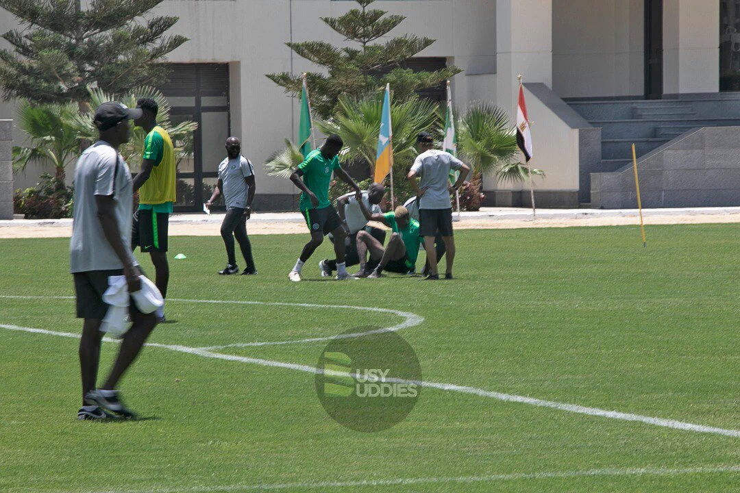 Osimhen Injured In Eagles' Training, May Miss Madagascar Clash