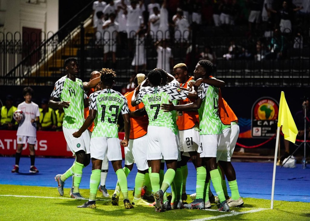 Calm Returns To Super Eagles'  Camp, Players Focus On Beating Cameroon