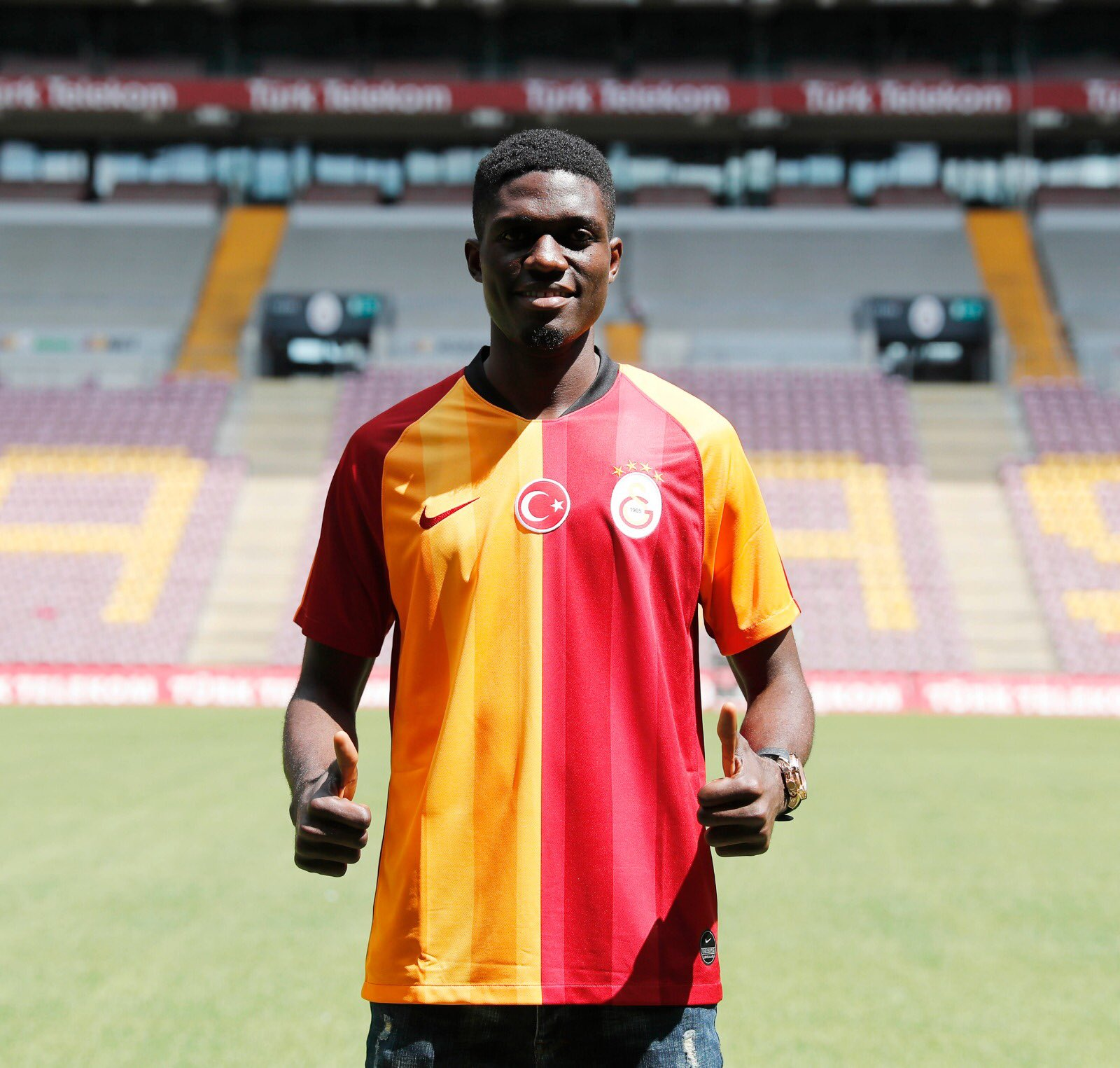 Ozornwafor Joins Galatasaray From Enyimba For €300K; Pens Four-Year Contract