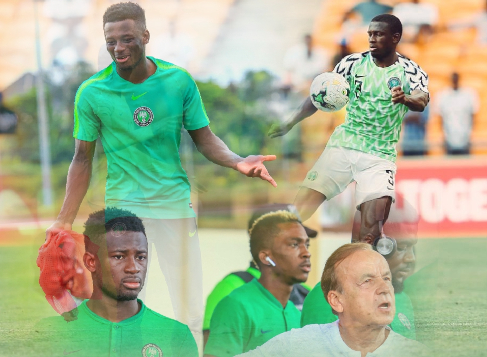 Collins: I'm Not In Super Eagles To Replace Echiejile; Living My Dream Of Representing Nigeria