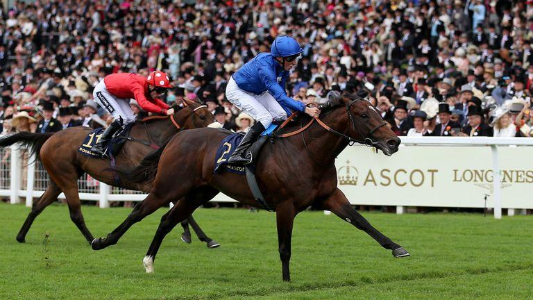 Blue Point Wins King's Stand Stakes