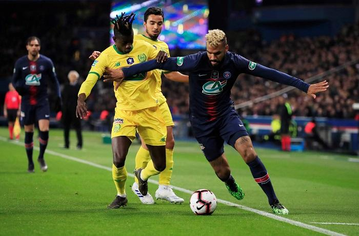 Choupo-Moting Enjoying PSG Life