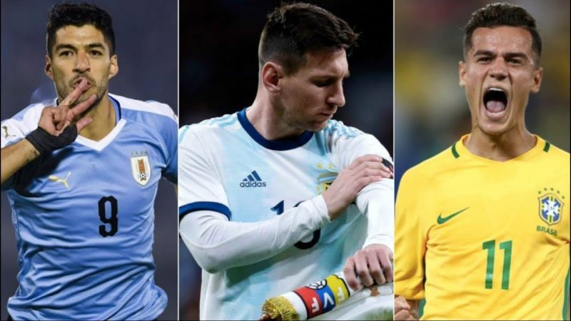 Copa America Round 2 Preview: Favourites Brazil, Argentina And Uruguay Lead Bets By Wide Margin