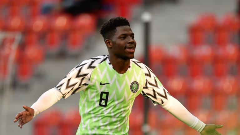 Flying Eagles Star Dele-Bashiru Released By Manchester City