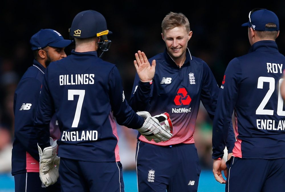 England Thump West Indies