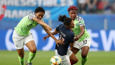 Super-falcons-france-2019-fifa-womens-world-cup-corinne-diacre-thomas-dennerby