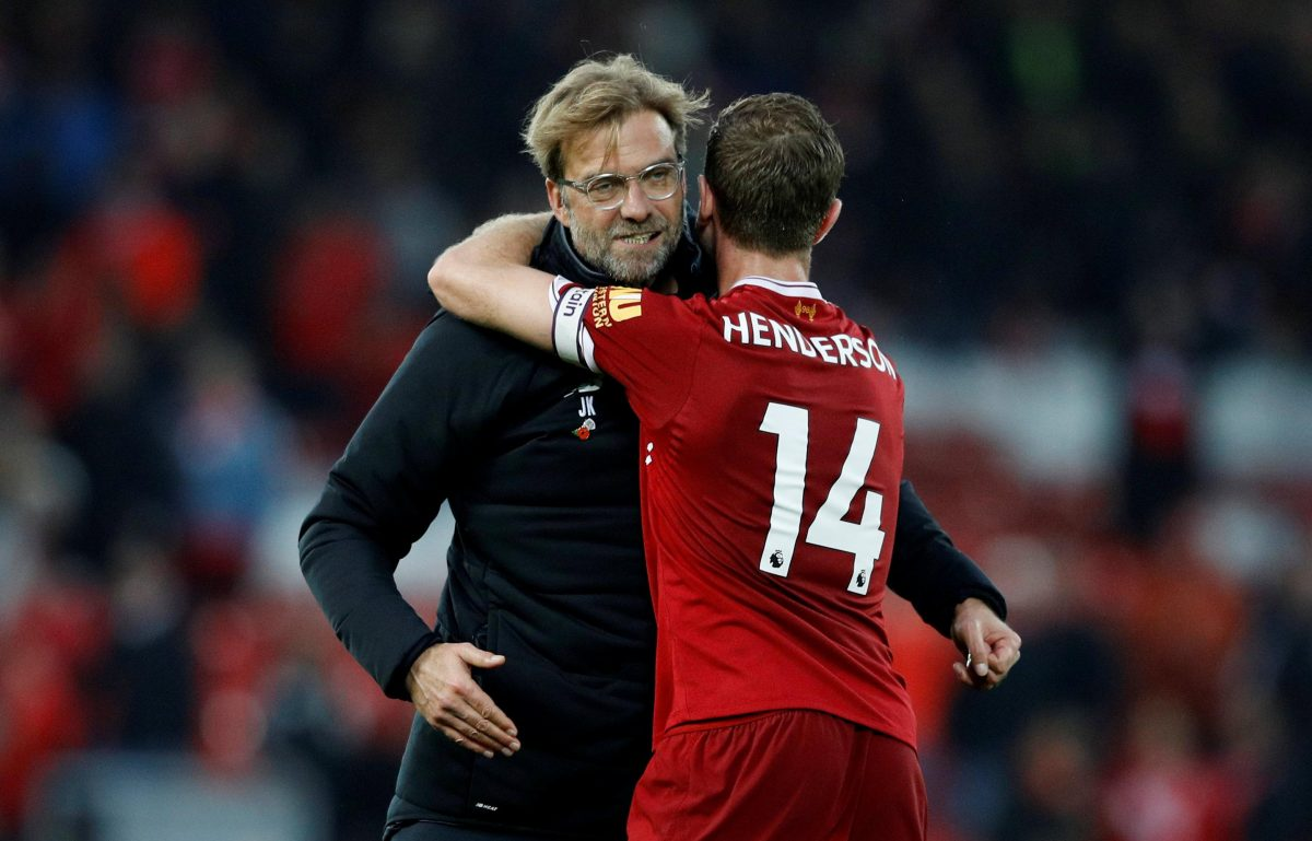 Henderson Salutes Klopp After Win