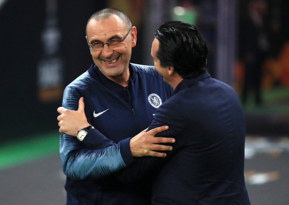 Juve Line Up Sarri Swoop