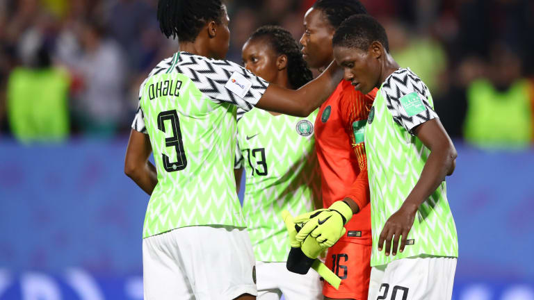 Eucharia: It Will Be Sad If Falcons Fail To Reach France 2019 Round Of 16