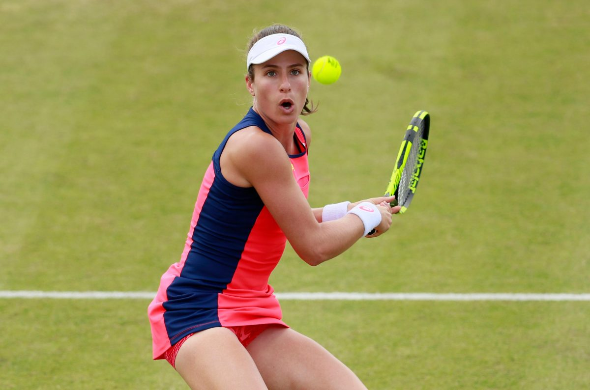 Konta Suffers Eastbourne Woe