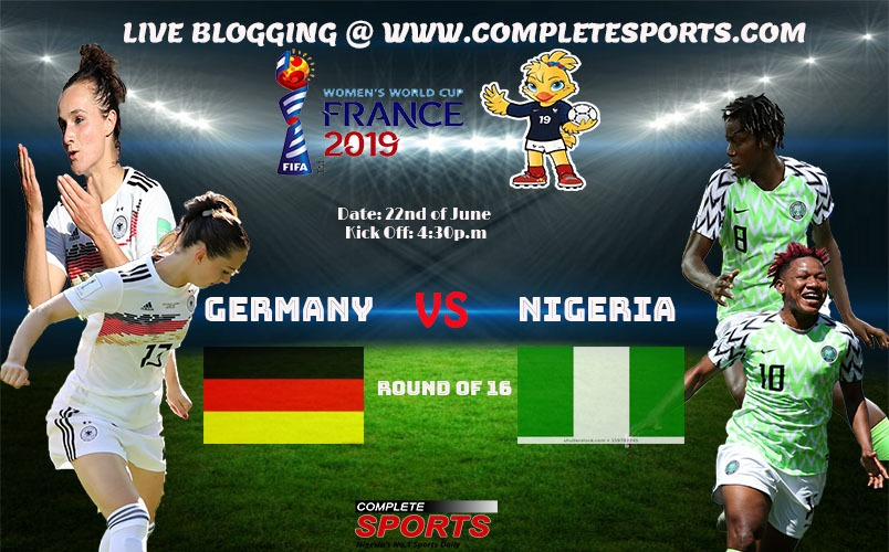 Live Blogging: Germany Vs Nigeria (Women's World Cup 2019)