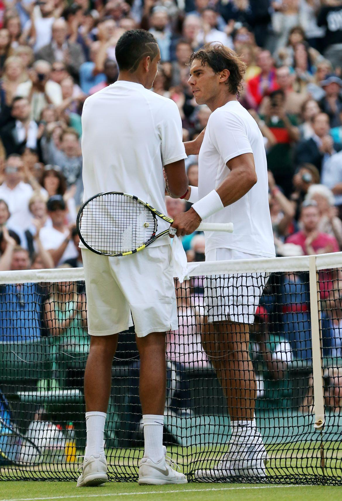 Nadal Faces Potential Kyrgios Grudge Match At Wimbledon