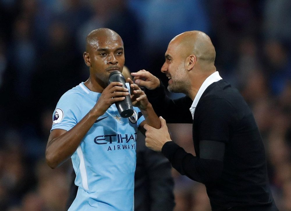 Guardiola Eyes New Fernandinho Role