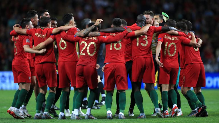 f25894836e0 Guedes Nets Winner As Portugal Pip Holland To Win UEFA Nations League Title