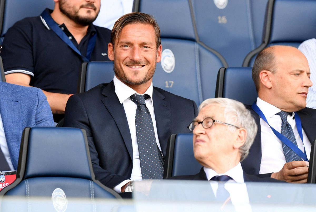 Totti Confirms Roma Exit