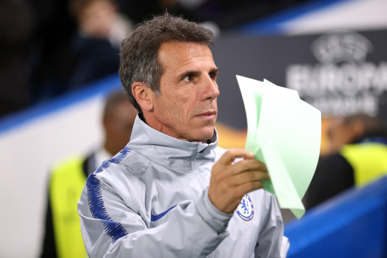 Zola Ready To Leave Chelsea